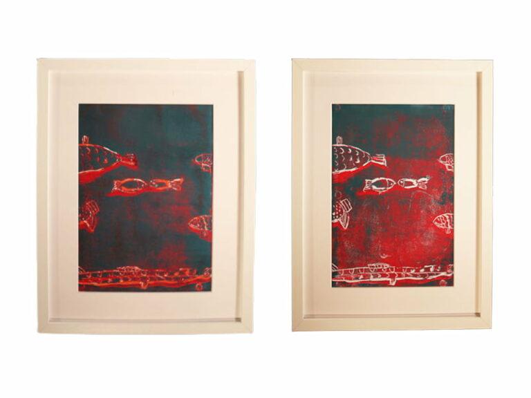 T12 Te koop Teken schilder Onderwaterwereld 1 en 2