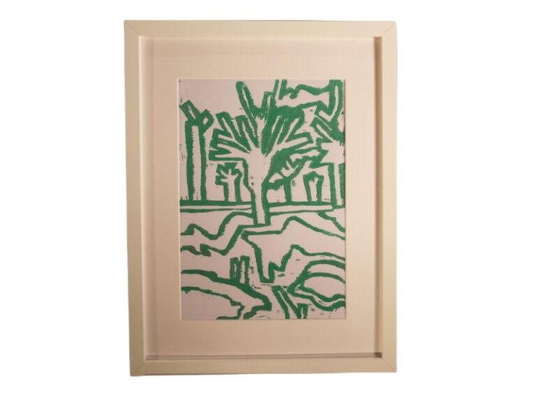 T16 Te koop Teken schilder Groene sneeuw