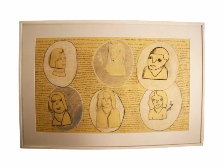 T3 Te koop Teken schilder Zes bustes